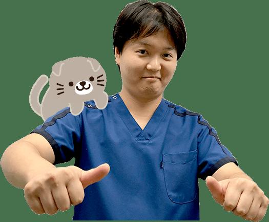 院長の奥村 晃平です !